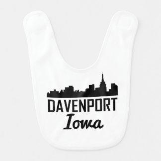 Babero Horizonte de Davenport Iowa