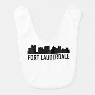 Babero Horizonte de la ciudad de la Florida del Fort