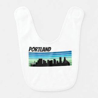 Babero Horizonte retro de Portland