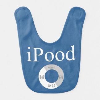 Babero humor del bebé del iPood