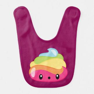 Babero Impulso Emoji del arco iris