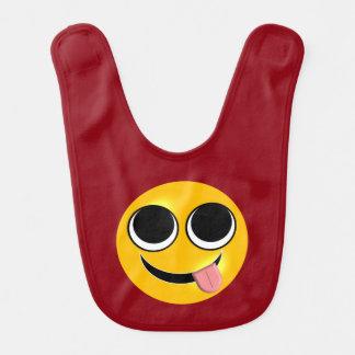 Babero Lengua divertida Emoji