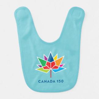 Babero Logotipo del funcionario de Canadá 150 -