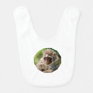 Babero Mono de la nieve