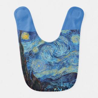 Babero Noche estrellada de Van Gogh