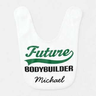 Babero personalizado Bodybuilder futuro del bebé