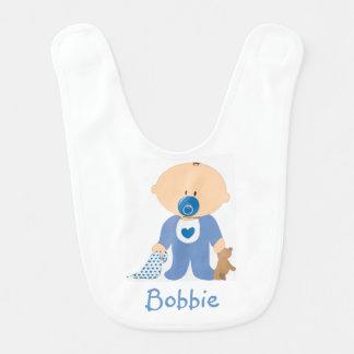 Babero personalizado del bebé