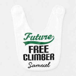 Babero personalizado escalador libre del bebé del