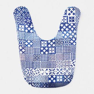 Babero Puerto de cerámica del modelo de la textura de las