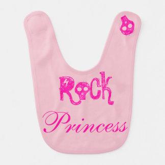Babero Rock Princess - rosa