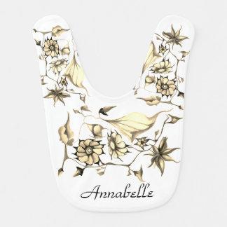 Babero Sepia exótica encantadora caprichosa elegante