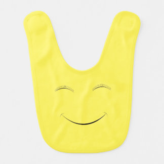 Babero Smiley feliz