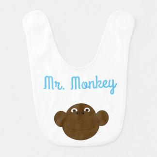 Babero Sr. Monkey Baby Bib