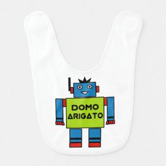 Babero Sr. Roboto Baby Bib de Domo Arigato