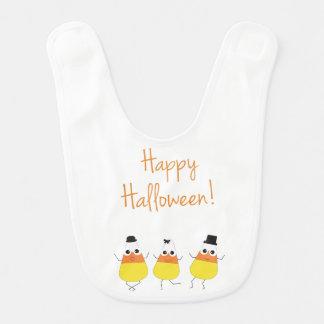 Babero temático de Halloween con las pastillas de