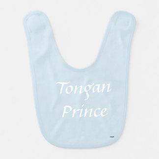 Babero tongano del príncipe