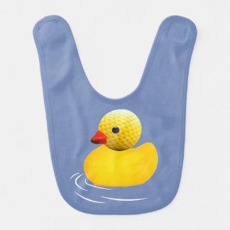 Babero Yellow rubber duck