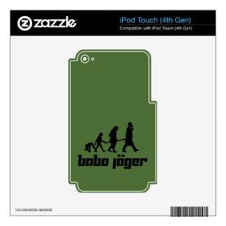 Babo Jäger Calcomanía Para iPod Touch 4G