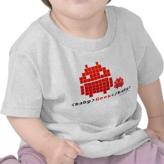 Baby Geek Tee Shirts