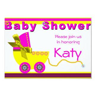 Baby Shower invitation Invitación 8,9 X 12,7 Cm