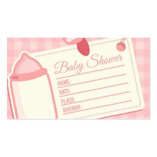 Baby Shower Tarjetas De Visita
