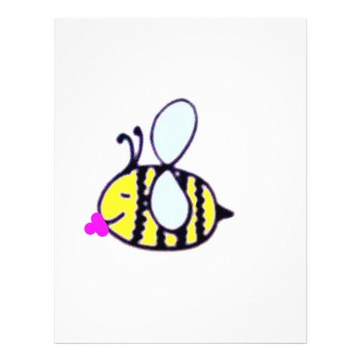 babybee flyer personalizado