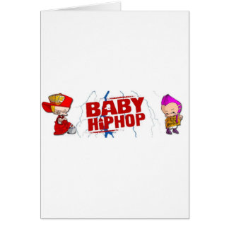 BabyHipHop Tarjetas