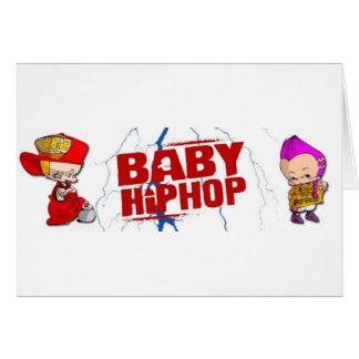 BabyHipHop Tarjeta De Felicitación