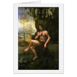 Bacchus, c.1695 (aceite en lona) tarjeta de felicitación
