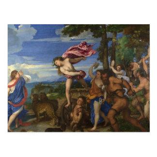 Bacchus y Ariadne Postal