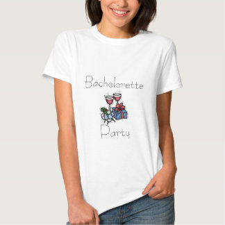 Bachelorette, camisetas del fiesta