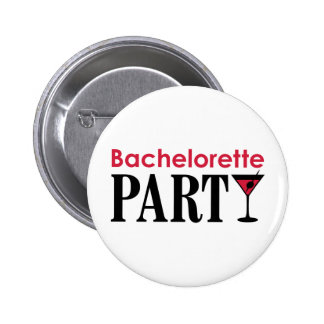 Bachelorette party chapa redonda de 5 cm