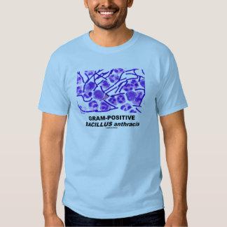 Bacilo anthracis grampositivo (bacterias) camisetas