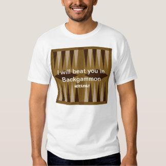 Backgammon: Ninguna misericordia Camisetas