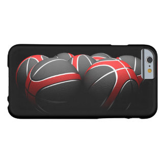 background of modern basketball balls funda para iPhone 6 barely there