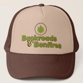 Backroads y gorra del camionero de las hogueras