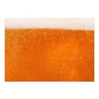 backround de la cerveza anuncio personalizado