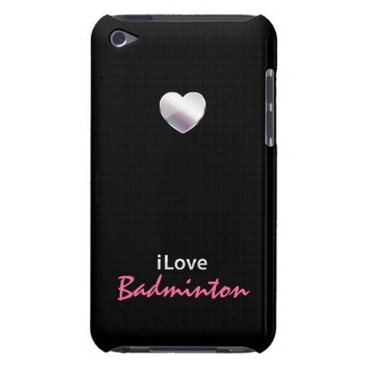 Bádminton lindo iPod touch Case-Mate protector