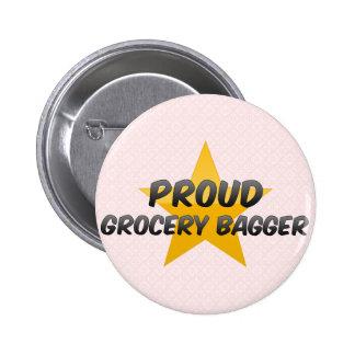 Bagger orgulloso del ultramarinos chapa redonda 5 cm