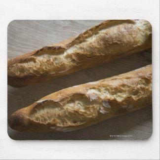 Baguettes franceses, pan francés, cierre para alfombrilla de ratón