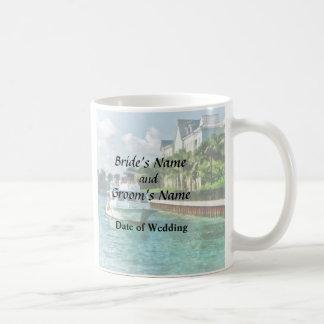 Bahamas - transbordador al producto del boda de la taza de café