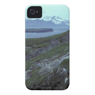 Bahía ancha de la isla de la terraza iPhone 4 Case-Mate funda