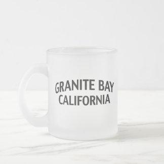 Bahía California del granito Tazas De Café