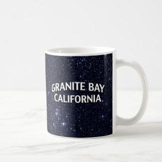 Bahía California del granito Taza