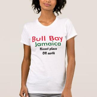 Bahía de Bull Jamaica Camisetas