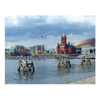 Bahía de Cardiff, Cardiff, País de Gales Postal
