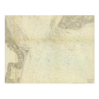 Bahía de Delaware, río 1 Postal