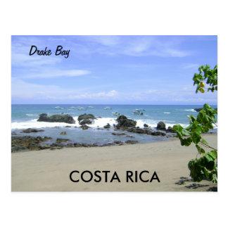 Bahía de Drake, península de Osa, postal de Costa