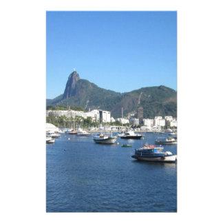 Bahía de Guanabara en Río de Janeiro Papelería Personalizada