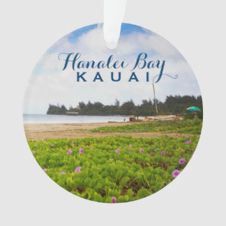 Bahía de Hanalei, foto de Kauai Hawaii 2 Adorno